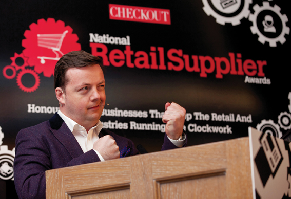 Checkout Publications National Retail Supplier Awards, held at the Radisson Golden Lane Hotel, Dublin. November 2015.