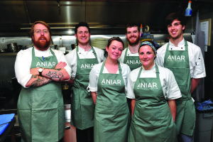 July 8th, At the Aniar Restaurant 'Summer Lunch for Hospitality 'which was hosted by JP McMahon, pictured with the Aniar Kitchen Staff. Photo: Boyd Challenger