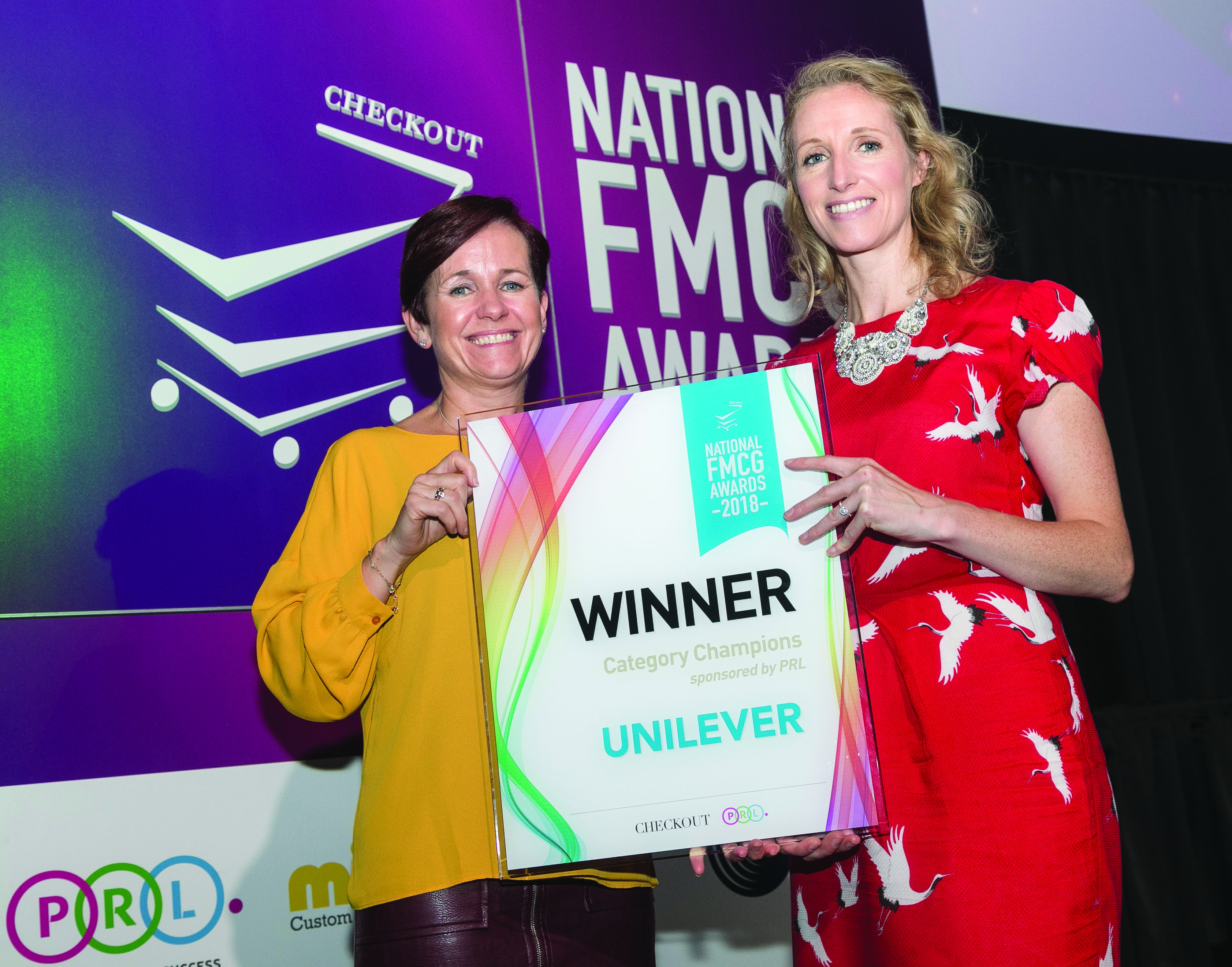 Emer Woodfull (PRL), Fiona Ryan (Unilever)