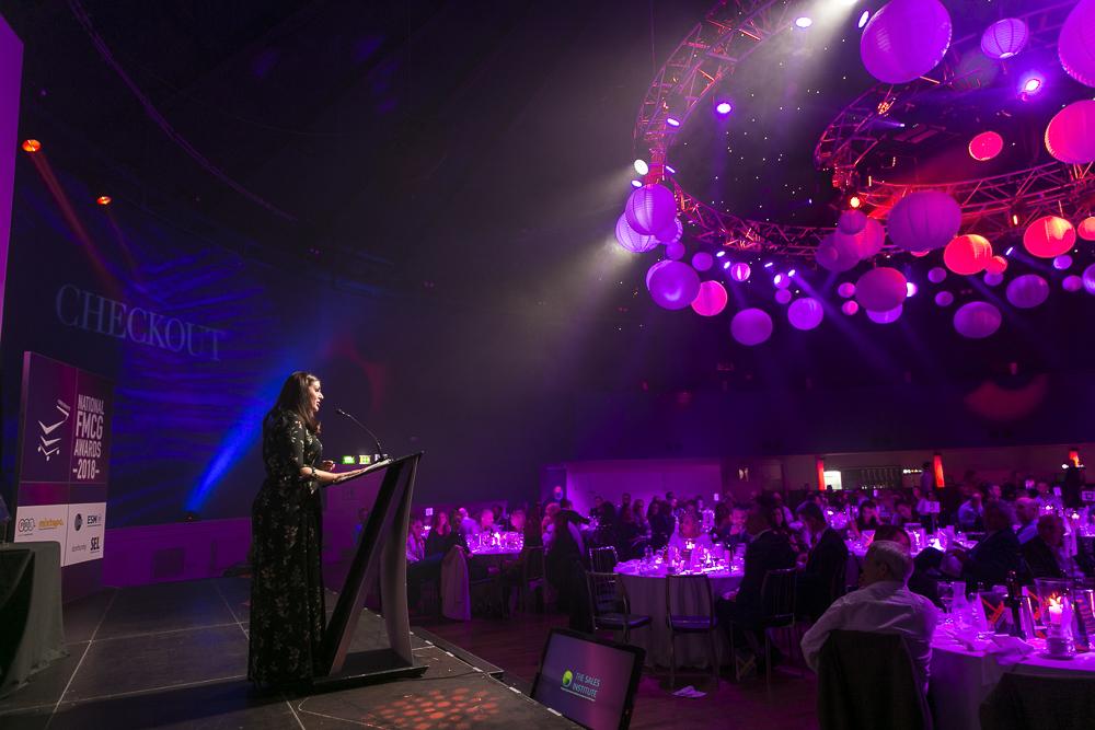 Checkout National FMCG Awards, host Sile Seoige