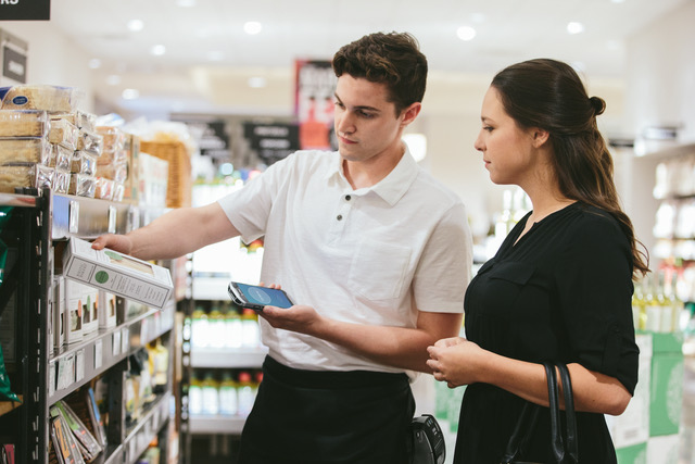 Personalisation Application-retail-grocery-scanning-box